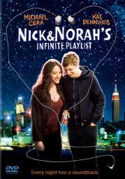 Nick & norahs infinite playlist (dvd/ws 1.85 a/dd 5.1/dss/eng) D25303D