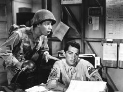 At War With The Army Jerry Lewis Dean Martin 1950 Photo Print EVCMBDATWAEC003HLARGE