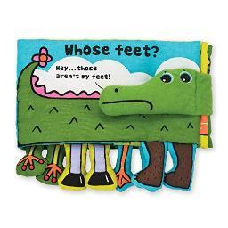 Melissa & doug 9203 whose feet read & play ks kids