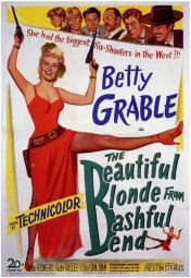 The Beautiful Blonde from Bashful Bend Movie Poster Print (27 x 40) MOVAF0346