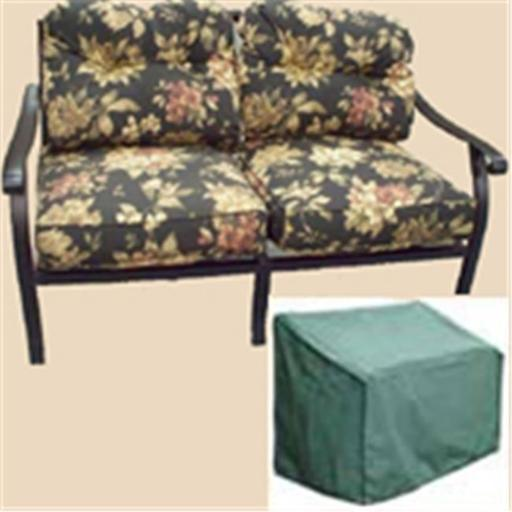 Bosmere C618 Love Seat Cover - Green
