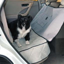 K&H Pet Products 7862 Gray K&H Pet Products Deluxe Car Seat Saver Gray 54 X 58 X 0.25
