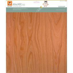 "BARC Wood Sheet W/Adhesive Backing 12""X12"" Cherry"