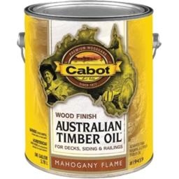 UPC 080351810077 product image for Cabot 81007 1 Gallon, Mahogany Flame Australian Timber Oil Wood Finish, Reduced  | upcitemdb.com