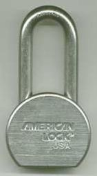 American Lock A701ka#27244 Long Shackle Steel Lock, 2-1/2""