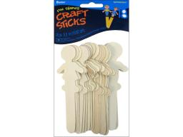 Dar9151 45 darice wood craft stick people 6 18pc