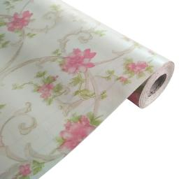 Pink Rose - Self-Adhesive Wallpaper Home Decor (Roll)