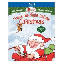 Twas the night before christmas (blu-ray/deluxe edition/2 disc) BR155407