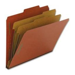Nature Saver NAT01050 Classification Folders- Letter- 1 Partition- Red