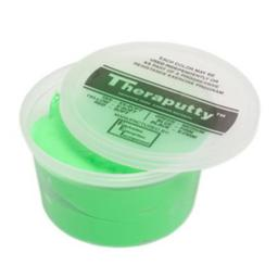Fabrication Enterprises 10-2773 Theraputty Scented Exercise Putty Apple, Green - Medium - 1 lbs