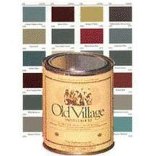 Old Village 1726pt Acrylic Latex Paint 1 Pt - Black Satin