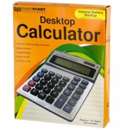 Bulk Buys KL18696 Large Display Desktop Calculator