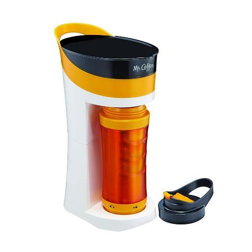 Mr. Coffee Personal Coffee Maker with Insulated To-Go Mug - 16 oz SSI8RC9NFFLVVLUC