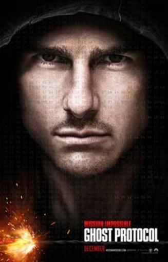 Mission Impossible - Ghost Protocol Movie Poster (11 x 17) GDMSUCUPNHXKEEBS