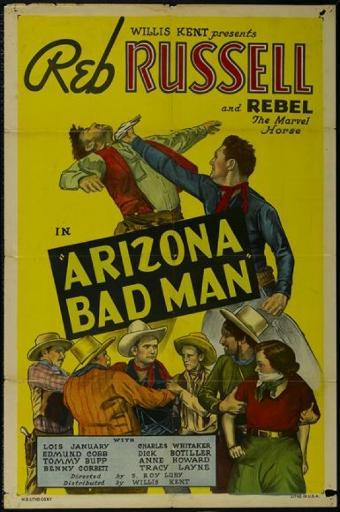Arizona Bad Man Movie Poster (11 x 17)