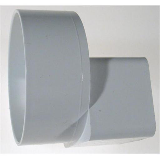 Genova Products PVC Offset Downspout Adapter 46234