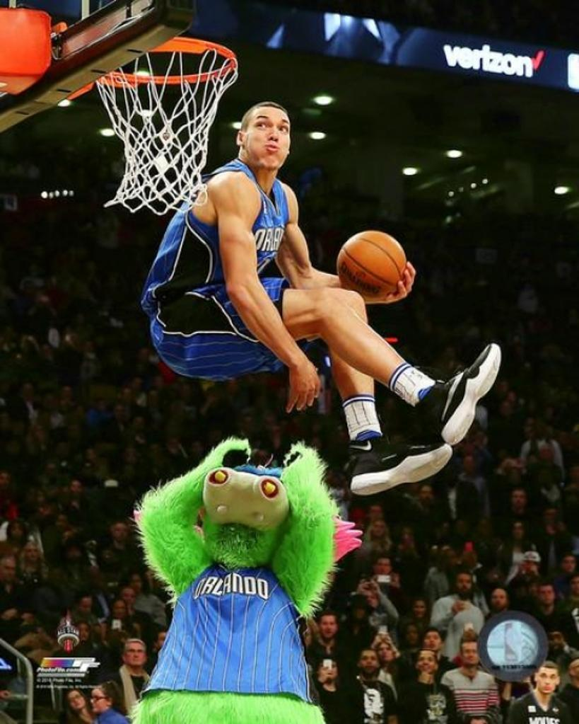 Aaron Gordon Slam Dunk Contest 2016 NBA All-Star Game Photo Print