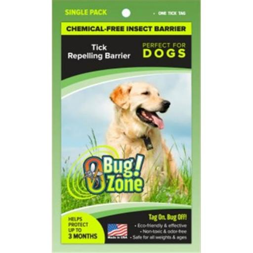 0Bug Zone Tick Barrier Tag for Dogs