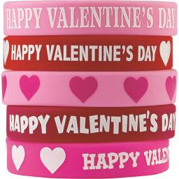 Teacher Created Resources TCR6564 Happy Valentines Day Wristbands