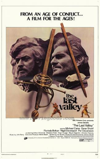 The Last Valley Movie Poster Print (27 x 40)