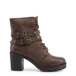 Xti Women Brown Ankle boots Brown 37