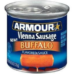 Buffalo Armour Star Vienna Sausage 4.75 oz Can