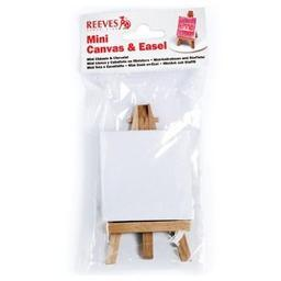 Winsor & newton / colart 8640938 mini canvas and mini easel poly bag