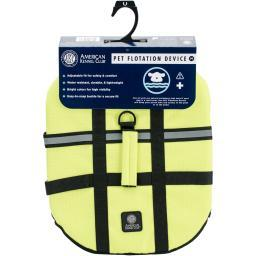 Akc Flotation Vest-yellow Medium