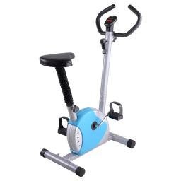 Exercise Bike Fitness Cycling Machine Cardio Aerobic Equipment Workout Gym Blue