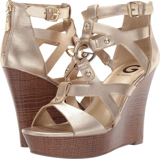 146a9555597 G by Guess G by Guess Womens Dodge Open Toe Casual Platform Sandals ...