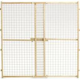 Midwest Homes For Pets 568828 44 x 29 - 50 in. Wood & Wire Mesh Pet Gate 568828
