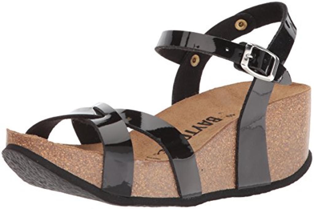 Bayton Women's Venus Sandal Black 36 Medium EU (5 US)