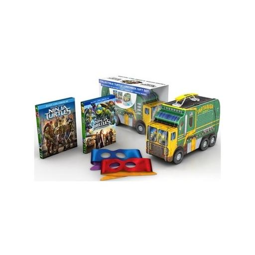 Tmnt 2-lunchbox giftset (blu-ray/dvd/4 disc) nla 1293057