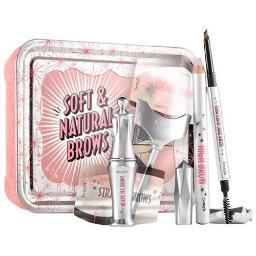 Benefit Soft & Natural Brows Kit, 06, Deep