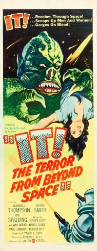 It The Terror From Beyond Space Poster Art 1958. Movie Poster Masterprint S0DHVHQN9VRDLZXR