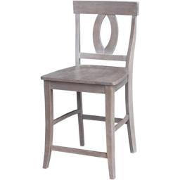 International Concepts S09-1702 Cosmo Counterheight Stool - 24 in. Seat Height