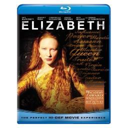 Elizabeth (blu ray) (dts surround 5.1) BR61112100