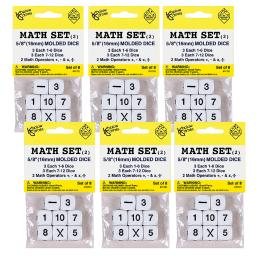 Koplow games (6 st) whole number dice