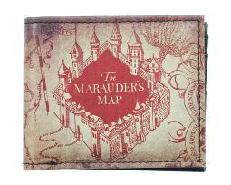 Officially Licensed Harry Potter The Marauder's Map Bi-Fold Wallet NEW