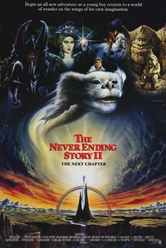 Neverending Story 2 the Next Chapter Movie Poster (11 x 17) W67FRXO0YEU7TOWG