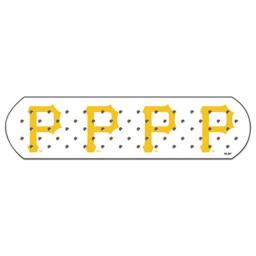 CUE PITTS001001 1 x 3 in. MLB Adhesive Bandages, Pittsburgh Pirates - 50 per Box