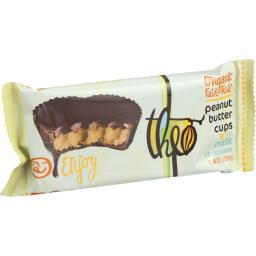 Theo Chocolate Peanut Butter Cups - Milk Chocolate - 1.3 oz - Case of 12