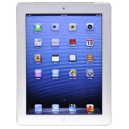 Apple iPad with Wi-Fi + Cellular 32GB - White - AT&T (3rd generation) - B