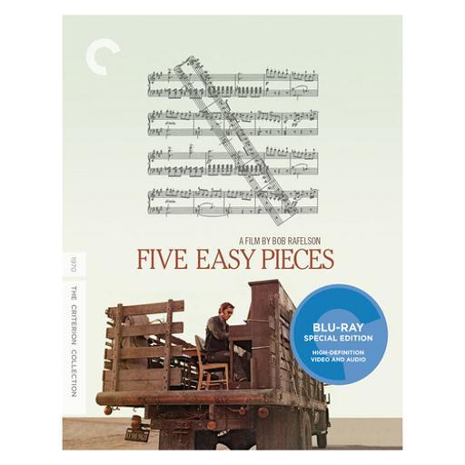 Five easy pieces (blu-ray/1970/ws 1.85/monaural) QZ9DNXDPEMR2WK2W