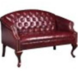 Boss Br99802-By Classic Traditional Button Tufted Loveseat.