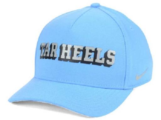 North Carolina Tar Heels NCAA Nike Local Dri-Fit Swoosh Flex Fitted Hat