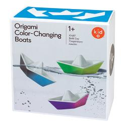 Kid o color changing origami boats