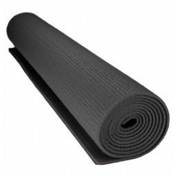 Brybelly Holdings SYOG-071 0.125 in. Compact Yoga Mat with No-Slip Texture, Black