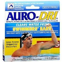 Auro-Dri Ear Water-Drying Aid Swimmers' Ears Relief 1 oz