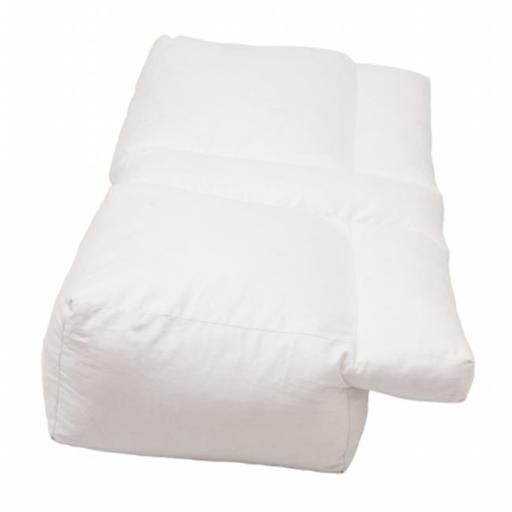 Living Health Products BSP-401-41 Better Sleep Pillow - Luxury White Goose Feather and Goose Down Pillow